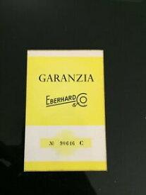 【送料無料】腕時計 ビアンコgaranzia warranty in bianco eberhard anni 6070
