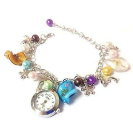 【送料無料】腕時計 ビーズブレスレットボックスpretty beaded bracelet watch gift boxed guaranteed free uk pamp;pcg0071