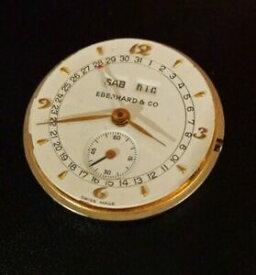 【送料無料】腕時計 クオーツカレンダームーブメントヴィンテージeberhard amp; co quartz calendar movement vintage