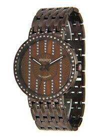 【送料無料】腕時計 パリマロンマロンブレスレットスワロフスキーエレメントmoog paris montre femme avec cadran marron, elments swarovski, bracelet marron