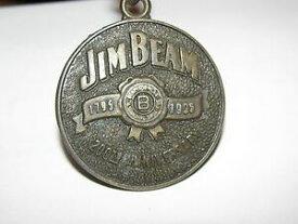 【送料無料】腕時計 ジムビームウイスキーキーチェーンjim beam whiskey 200th anniversary 1795 1995 brass key chain fob two sided