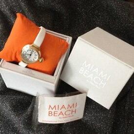 【送料無料】腕時計 セールグラムロックマイアミビーチアールデコシリコンゴールドトーンウォッチ