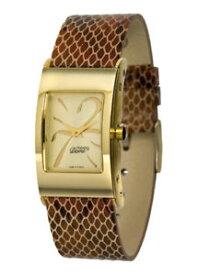 【送料無料】腕時計 パリドーレブレスレットマロンmoog paris montre femme avec cadran dor, bracelet marron en cuir vritable
