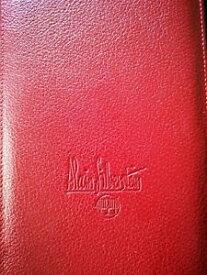 【送料無料】腕時計 アランレザーポーチバッグoriginal authentic alain silberstein leather pouch bag