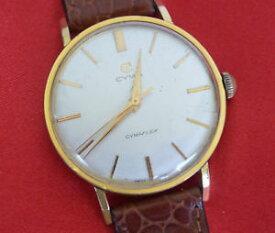 【送料無料】腕時計 ビンテージメンズウォッチcyma cymaflex handaufzug kal r459 vintage herrenuhr 35 mm