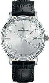 【送料無料】腕時計 クロードベルナールアインclaude bernard herrenuhr sophisticated classics datum quarz 53007 3 ain