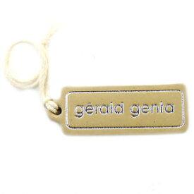 【送料無料】腕時計 ジェラルドジェンタベージュレザーgerald genta beige leather watch tag in great condition