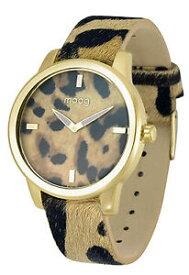 【送料無料】腕時計 パリマロンマロンノワールブレスレットmoog paris montre femme avec cadran marron et noir, bracelet marron et noir