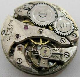 【送料無料】腕時計 スイスラウンドインバームーブメントswiss round movement invar w amp; co watch movement 15 jewels 2 adj for part