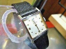 【送料無料】腕時計 レディースアップスクエアタンクウォッチladies 22mm cyma 17 jewels cal r433 tavannes windup square tank watch