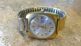 【送料無料】腕時計 ビンテージメンズvintage benrus citation electronic mens wristwatch with day amp; date ~ 9i5355