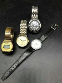 【送料無料】腕時計 アドルフォニーズlot of 4 watches starex adolfo benrus timex needs batteries