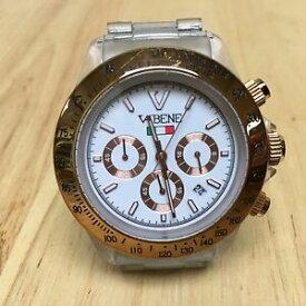 【送料無料】腕時計 クリアプラスチックアナログクォーツクロノグラフウォッチバッターluxury vabene clear plastic analog quartz chronograph watch hour~date~ batter