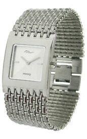 【送料無料】腕時計 パリブレスレットmoog paris montre femme avec cadran argent, bracelet argent