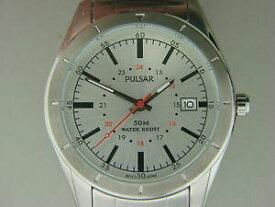 【送料無料】腕時計 メンズパルサーステンレススチールクライスラージープウォッチ mens pulsar stainless steel watch pxh843x authorized dealer