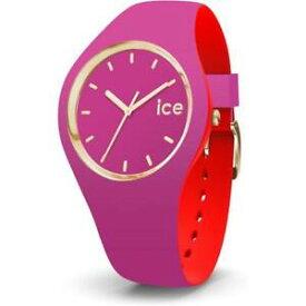 【送料無料】腕時計 シリコーンロッソゴールドサブメートルウォッチorologio ice watch loulou ic007243 silicone fucsia rosso dorato gold sub 100mt