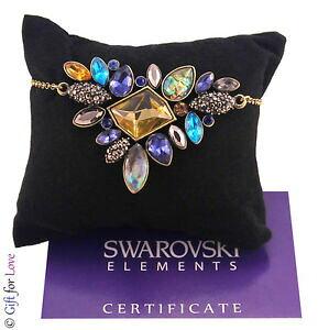 【送料無料】アクセサリー ネックレスゴールドスワロフスキーエレメントcollana donna oro swarovski elements originale g4love cristalli girocollo regalo