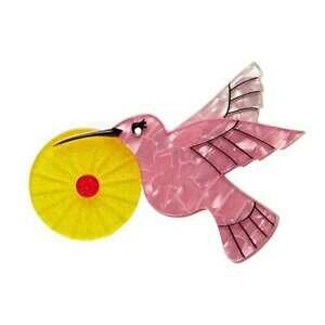 【送料無料】アクセサリー ネックレスボックスブローチerstwilder the humble colibr broche nuevo en caja