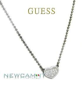 【送料無料】アクセサリー ネックレスguess steel collana con pendente a cuore usn11009 listino 49,00 jewels cam