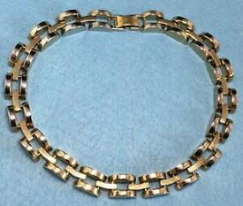 【送料無料】アクセサリー ネックレスkゴールドメッキチェーンヘッセバルクネックレスチョーカーリンクallsaints 10k cadena de oro plateado hesse grueso abovedado vinculado gargantilla collar