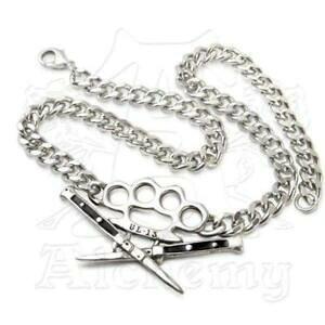 【送料無料】アクセサリー ネックレスゴシックチョークチェーンネックレスalchemy gothic switchblade gargantilla collar de cadena ul13