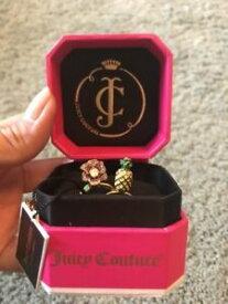 【送料無料】アクセサリー ネックレスジューシークチュールリングリングjuicy couture anillos 2x rings love veneno np 96
