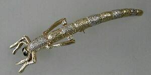 【送料無料】アクセサリー ネックレスカーブブローチneugablonz curvado broche insecto pedrera para 1980 31556