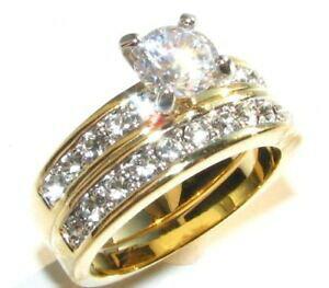 【送料無料】アクセサリー ネックレスリングスワロフスキークリスタルセットah joyas impresionante conjunto anillo de oro electrochapado cristales de swarovski