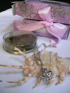 【送料無料】アクセサリー ネックレススターリングシルバーハートペンダントネックレスファッションシーシェルニースbonito para dama, de plata colgante corazn fino collar moda mar perla concha