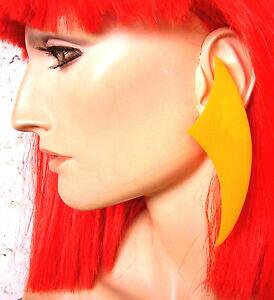 【送料無料】アクセサリー ネックレスプラスチックオレンジクリップ2234 boucles doreille clips en plastique orange