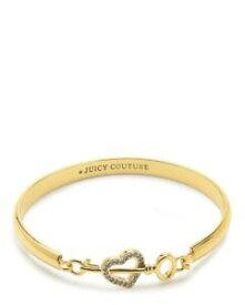 【送料無料】アクセサリー ネックレス クラシックキーブレスレットラベルclassic juicy couture cuore amp; chiave braccialetto, nuovo con etichette