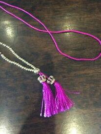 【送料無料】アクセサリー ネックレス ジューシークチュールブラックレーベルネックレスディープピンク