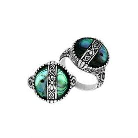 【送料無料】アクセサリー ネックレス アワビシェルスターリングシルバーリングargento sterling anello con abalone shell ar6265ab7