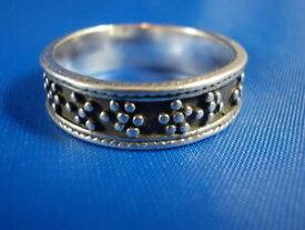 【送料無料】アクセサリー ネックレス デザインシルバーリングビンテージbella design anello argento 925 vintage 19mm oscurati