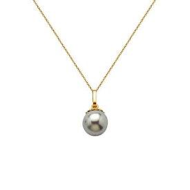 【送料無料】アクセサリー ネックレス コリアーヌフcollier en plaqu or 18 ct et perle grise neuf longueur au choix 45cm ou 50cm