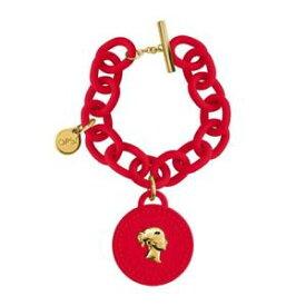 【送料無料】アクセサリー ネックレス カフオブジェクトコインレッドシリコンbracciale ops objects opskbr108 pendente moneta silicone rosso