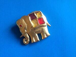 【送料無料】アクセサリー ネックレス パーランコムブローチbijoux broche fantaisie elphant par lancome brooch