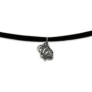 【送料無料】アクセサリー ネックレス チェーンチョークバタフライシルバーネックレスネックレスcatena choker farfalla argento 925 collana da donna collana donne sterling