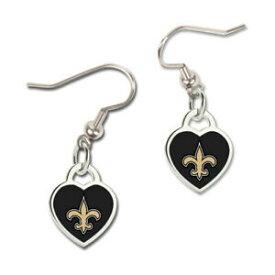 【送料無料】アクセサリー ネックレス ウィンハートイヤリングニューオーリンズセインツwincraft donna 3d cuore orecchininfl orleans saints