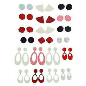 【送料無料】アクセサリー ネックレス コレクションパーティーバッグイヤリングalla olivia collection 6 orecchini colorati 20 assortiti ideale per feste bags