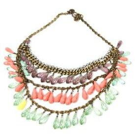 【送料無料】アクセサリー ネックレス ジューシークチュールマルチカラーネックレスビーズjuicy couture collana multicolore perline dp 320