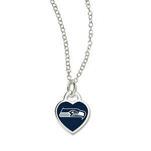 【送料無料】アクセサリー ネックレス ウィンネックレスシアトルシーホークスwincraft donna cuore collananfl seattle seahawks