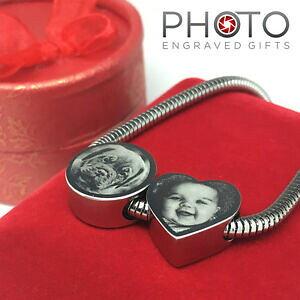 【送料無料】アクセサリー ネックレス カスタムステンレススチールバレンティーノfoto personalizzata incisa cuore fascinoacciaio inox regalo s valentino