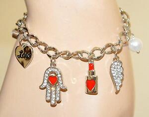 【送料無料】アクセサリー ネックレス カフシルバーペンダントファティマbracciale argento ciondoli donna cuore mano fatima perla amuleti medagline bb22