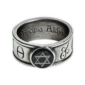 【送料無料】アクセサリー ネックレス イギリスゴシックオニキスシールリングalchemy of england gotico principia alchemystica solomonic sigillo onice anello