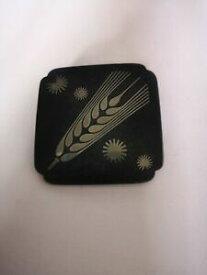 【送料無料】ネックレス ゲオルクイェンセンシルバースクエアブローチgeorg jensen iron and silver square brooch designed by arno malinowski