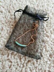 【送料無料】ネックレス モニカリニアブレスレットローズゴールド¥monica vinader linear stone bracelet rose gold rrp 195 autehentic
