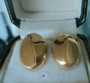 【送料無料】ネックレス イエローゴールドイヤリングバーミンガムクリップオン listingattractive modernist 9ct yellow gold earrings hm 1994 birmingham clip on