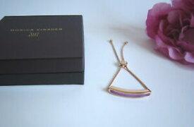 【送料無料】ネックレス モニカvinaderバヤquartzfabmonica vinader baja rose gold vermeil bracelet with purple quartzfab