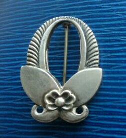 【送料無料】ネックレス ゲオルクイェンセンサボテンブローチgeorg jensen sterling silver abstract cactus brooch 227